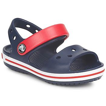 Încăltăminte Copii Sandale și Sandale cu talpă  joasă Crocs CROCBAND SANDAL Bleumarin / Roșu