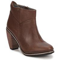 Pantofi Femei Botine Feud LIGHT Maro