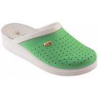 Pantofi Bărbați Saboti Sanital  verde