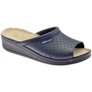 Pantofi Bărbați Papuci de vară Sanital  albastru