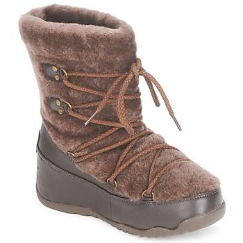 Pantofi Femei Cizme de zapadă FitFlop SUPERBLIZZ Ciocolatiu