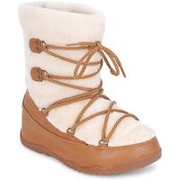 Pantofi Femei Cizme de zapadă FitFlop SUPERBLIZZ Bej / Maro