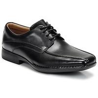 Pantofi Bărbați Pantofi Derby Clarks FRANCIS Negru