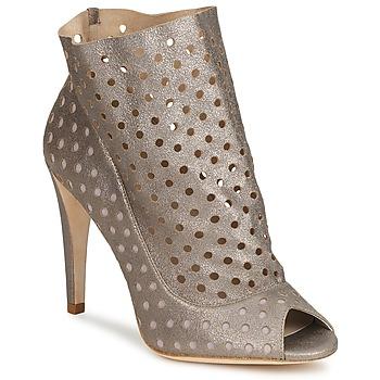 Pantofi Femei Botine Bourne RITA Argintiu