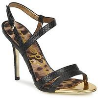 Pantofi Femei Sandale și Sandale cu talpă  joasă Sam Edelman ABBOTT Black / Snake