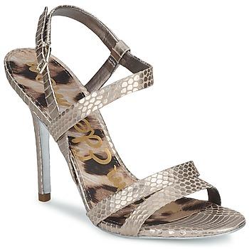 Pantofi Femei Sandale și Sandale cu talpă  joasă Sam Edelman ABBOTT Argintiu