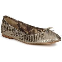 Pantofi Femei Balerin și Balerini cu curea Sam Edelman FELICIA Light / Gold / Metalic / Snake