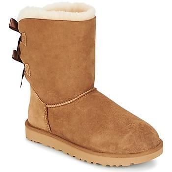 Pantofi Femei Ghete UGG BAILEY BOW II Bej