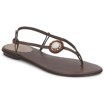Încăltăminte Femei Sandale și Sandale cu talpă  joasă Slinks Katie Rose & Mowana Moon CiocolatĂ