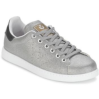 Pantofi Femei Pantofi sport Casual Victoria DEPORTIVO BASKET TEJIDO FANT Argintiu
