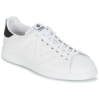 Pantofi Femei Pantofi sport Casual Victoria DEPORTIVO BASKET PIEL Alb / Negru