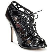 Încăltăminte Femei Sandale și Sandale cu talpă  joasă Lipsy SHEZZA Black