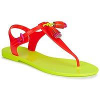 Pantofi Femei Sandale și Sandale cu talpă  joasă Juicy Couture WISP Neon / Portocaliu