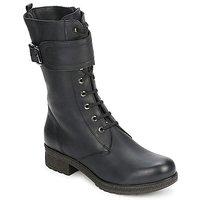 Pantofi Femei Cizme casual Unisa BLACK Black
