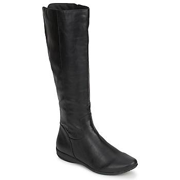 Pantofi Femei Cizme casual Moony Mood GURLEN Negru