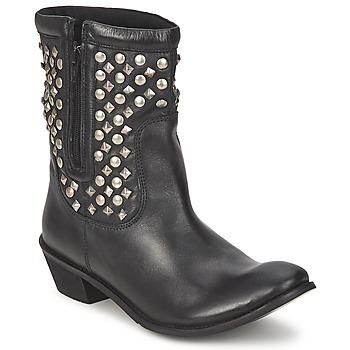 Pantofi Femei Ghete Friis & Company DUBLIN JANI Negru