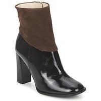 Pantofi Femei Botine Paco Gil MERLOUNI Negru / Maro