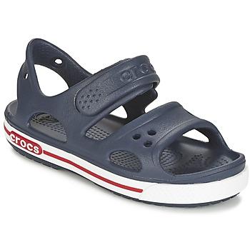 Pantofi Copii Sandale  Crocs CROCBAND II SANDAL PS Bleumarin / Alb