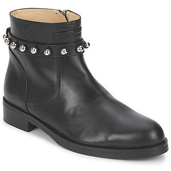 Pantofi Femei Ghete Moschino Cheap & CHIC CA21102MOYCE0000 Negru