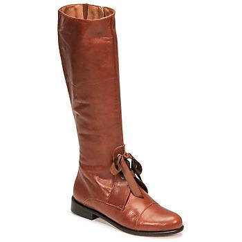 Pantofi Femei Cizme casual Fericelli MAURA Camel