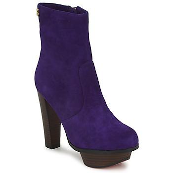 Pantofi Femei Botine Edith & Ella GANTOUKITA Violet