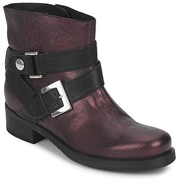 Pantofi Femei Ghete Janet&Janet URSUS VAN Bordo