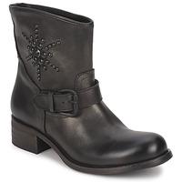 Pantofi Femei Ghete JFK OSSIR Negru