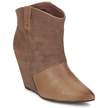 Pantofi Femei Ghete Koah LIBERTY Taupe