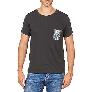 Îmbracaminte Bărbați Tricouri mânecă scurtă Eleven Paris MARYLINPOCK MEN Negru