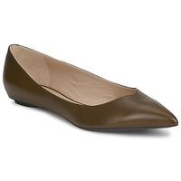 Pantofi Femei Balerin și Balerini cu curea Marc Jacobs MALAGA Taupe