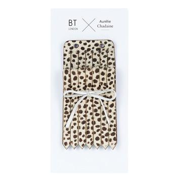 Accesorii Femei Limbă de pantofi Betty London LANGUETTES DEOPAR Leopard