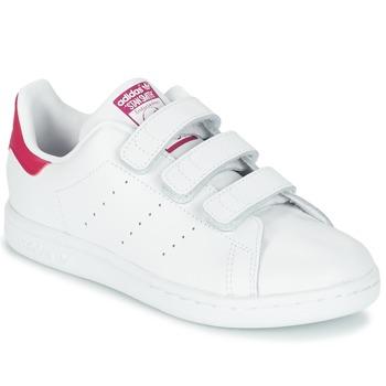 Pantofi Fete Pantofi sport Casual adidas Originals STAN SMITH CF C Alb