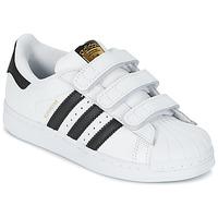 Pantofi Copii Pantofi sport Casual adidas Originals SUPERSTAR FOUNDATIO Alb / Negru