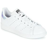 Încăltăminte Fete Pantofi sport Casual adidas Originals STAN SMITH J Alb
