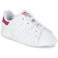 Încăltăminte Fete Pantofi sport Casual adidas Originals STAN SMITH CRIB Alb / Roz