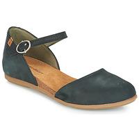 Pantofi Femei Balerin și Balerini cu curea El Naturalista STELLA Negru