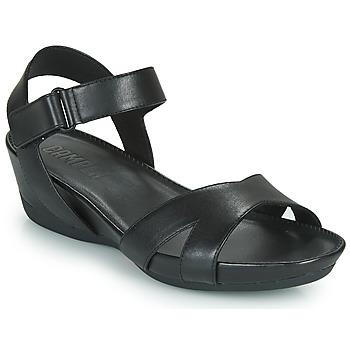 Pantofi Femei Sandale și Sandale cu talpă  joasă Camper MICRO Negru