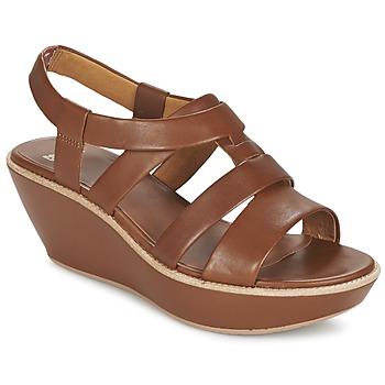Pantofi Femei Sandale și Sandale cu talpă  joasă Camper DAMAS Maro