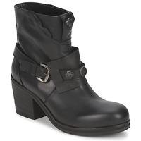 Pantofi Femei Botine Strategia MAUTAU Negru