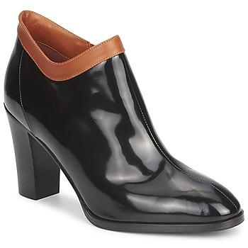 Pantofi Femei Botine Sonia Rykiel 654802 Negru / Ocru