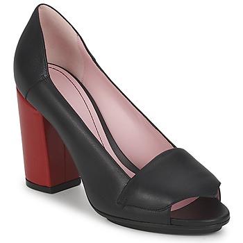 Pantofi Femei Pantofi cu toc Sonia Rykiel 657940 Negru / Roșu