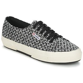 Pantofi Femei Pantofi sport Casual Superga 2750 FANTASY Negru / Alb
