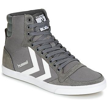 Încăltăminte Pantofi sport stil gheata Hummel TEN STAR HIGH Gri / Alb