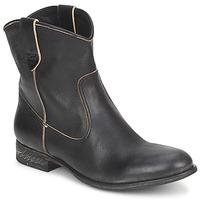 Pantofi Femei Ghete n.d.c. SAN MANUEL CAMARRA SLAVATO Negru