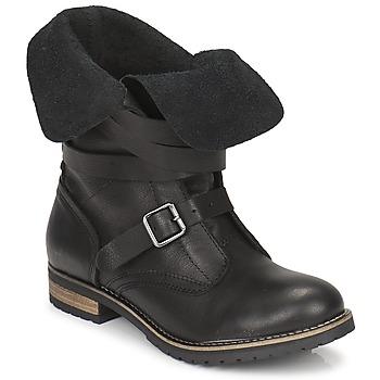 Pantofi Femei Ghete Casual Attitude GRAVINE Negru