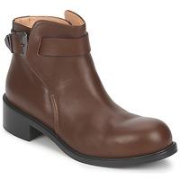 Pantofi Femei Ghete Kallisté 5723 Maro