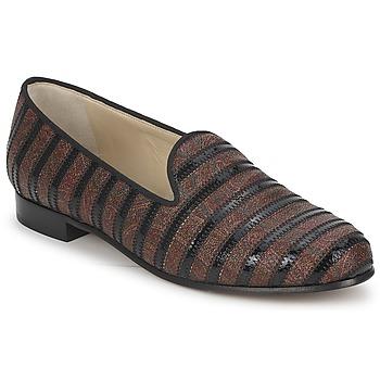 Pantofi Femei Mocasini Etro FLORINDA Maro / Negru