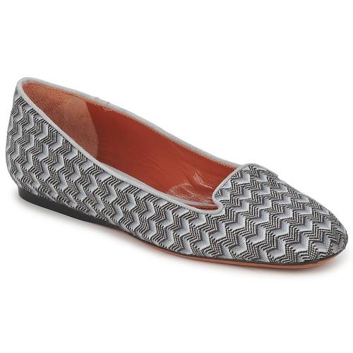 Pantofi Femei Mocasini Missoni WM079 Gri