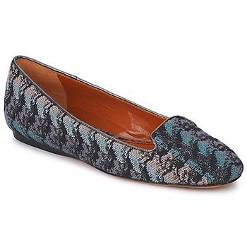 Pantofi Femei Mocasini Missoni WM004 Albastru