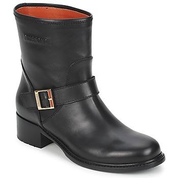 Pantofi Femei Ghete Missoni WM028 Negru